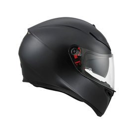 AGV K-3 SV SOLID MATT BLACK
