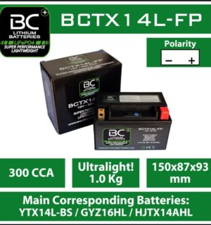 BC Lithium Battery BCTX14L-FP