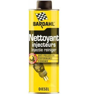 BARDAHL INJECTOR CLEANER 6in1 diesel Добавка за почистване на дизел BAR-3205