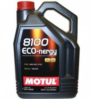 MOTUL ECO-NERGY 5W30 5L