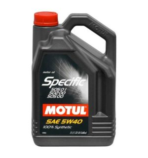 MOTUL SPECIFIC 502.00/505.01 5W40 5L