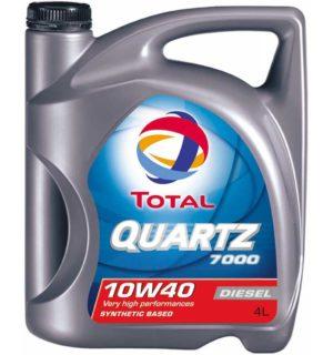 Total Quartz 7000 10W40 4L Diesel