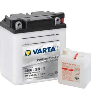 VARTA POWERSPORTS FRESHPACK 6V 6N6-3B-1