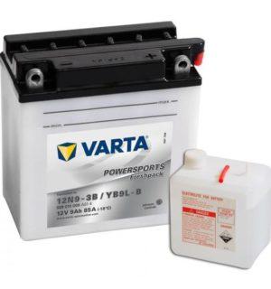VARTA POWERSPORTS FRESHPACK YB9L-B