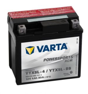 VARTA POWERSPORTS AGM YTX5L-BS