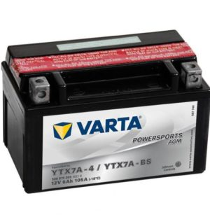 VARTA POWERSPORTS AGM YTX7A-BS