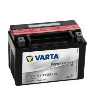 VARTA POWERSPORTS AGM YTX9-BS