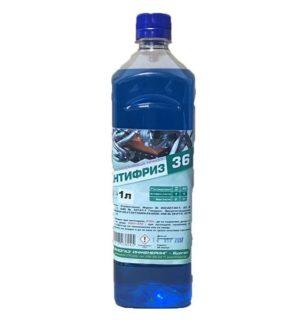 Антифриз син -36 1L