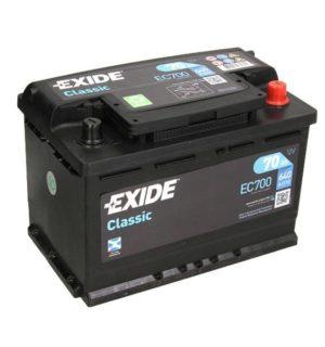 EXIDE CLASSIC 70Ah 640A