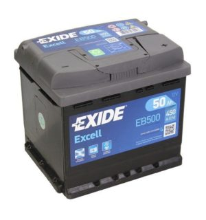 EXIDE EXCELL 50Ah 450A
