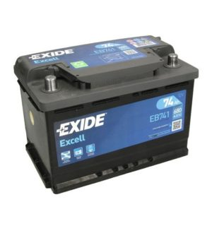 EXIDE EXCELL 74Ah 680A L