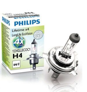 PHILIPS LongLife EcoVision H4
